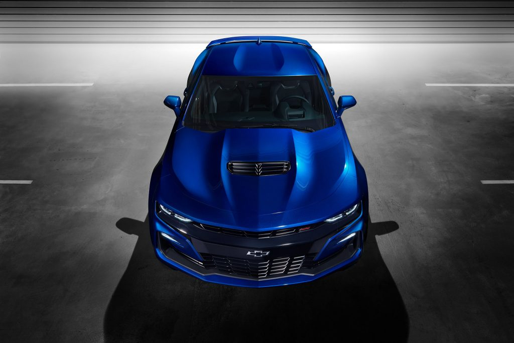 2020 Chevrolet Camaro updates